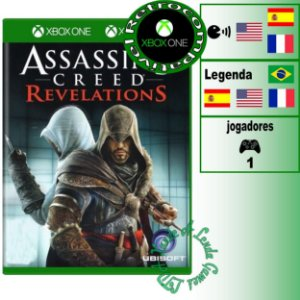 Assassin's Creed Revelations - XBOX 360 - XBOX ONE - Novo