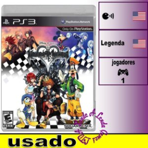 Kingdom Hearts HD 1.5 - PS3 - Usado