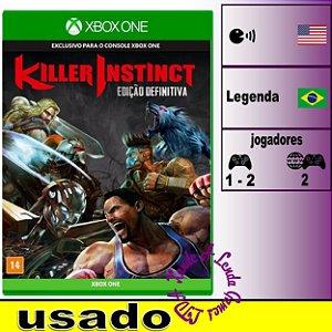 Killer Instinct Edição Definitiva - XBOX ONE - Usado