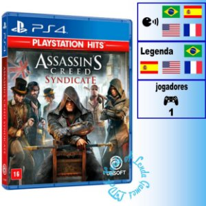 Assassin's Creed Syndicate (PlayStation Hits) - PS4 - Novo