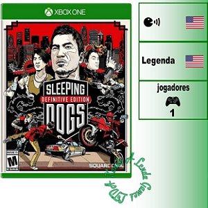 Sleeping Dogs Definitive Edition - XBOX ONE - Novo