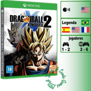 Dragon Ball Xenoverse 2 - XBOX ONE - Novo