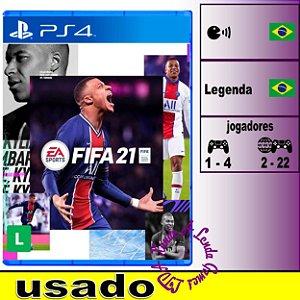FIFA 21 - PS4 / PS5 - Usado