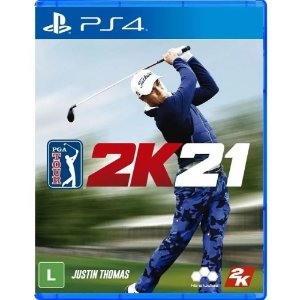 PGA Tour 2K21 - PS4 - Novo