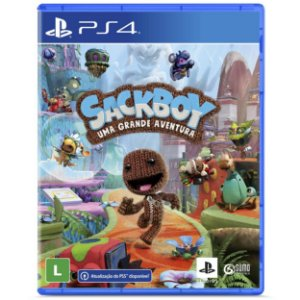 Sackboy Uma Grande Aventura - PS4 / PS5 - Novo