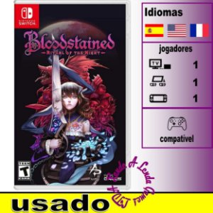 Bloodstained Ritual of the Night - SWITCH - Usado