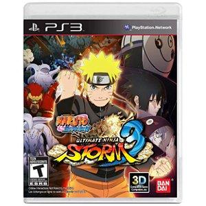Naruto Shippuden Ultimate Ninja Storm 3 - PS3 - Usado
