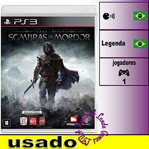 Terra Média: Sombras de Mordor - PS3 - Usado