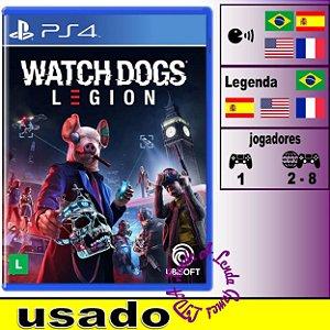 Watch Dogs Legion - PS4 / PS5 - Usado