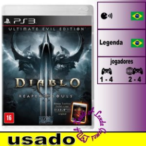 Diablo III Reaper of Souls Ultimate Evil Edition - PS3 - Usado
