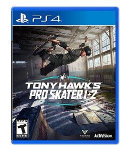 Tony Hawk's Pro Skater 1 + 2 - PS4 - Novo