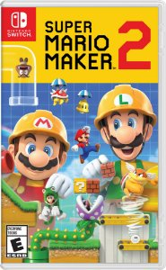 Super Mario Maker 2 - SWITCH - Novo [EUA]