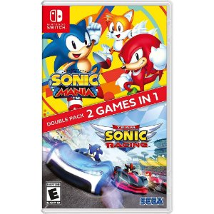 Sonic Mania + Team Sonic Racing Double Pack - SWITCH - Novo [EUA]