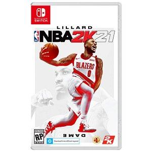 NBA 2K21 - SWITCH - Novo [EUA]