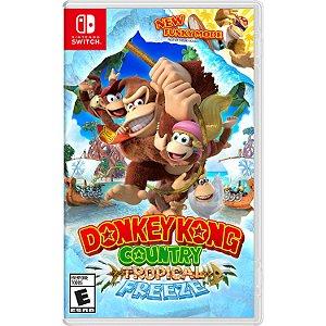 Donkey Kong Country Tropical Freeze - SWITCH - Novo [EUA]