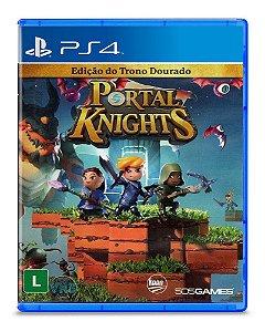 Portal Knights Edição do Trono Dourado - PS4 - Novo