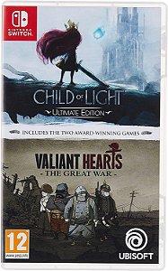 Child of Light & Valiant Hearts Double Pack - SWITCH - Novo [EUROPA]