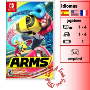 ARMS - SWITCH - Novo [EUA]