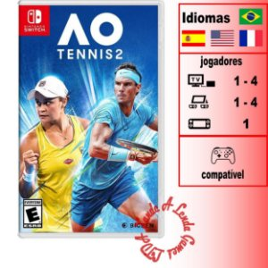 AO Tennis 2 - SWITCH - Novo [EUA]