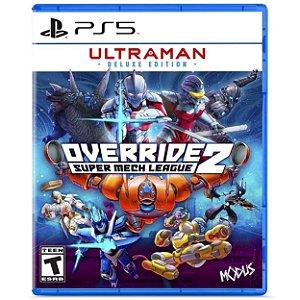 Override 2 Super Mech League Ultraman Deluxe Edition - PS5 - Novo