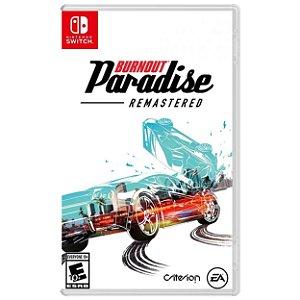 Burnout Paradise Remastered - SWITCH - Novo [EUA]