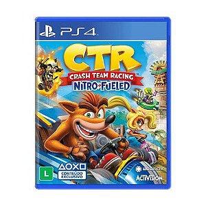 Crash Team Racing Nitro-Fueled - PS4 - Usado