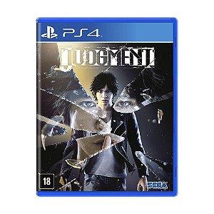 Judgment - PS4 - Novo