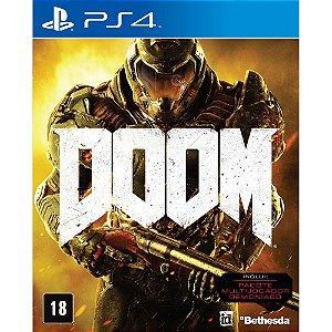Doom - PS4 - Usado