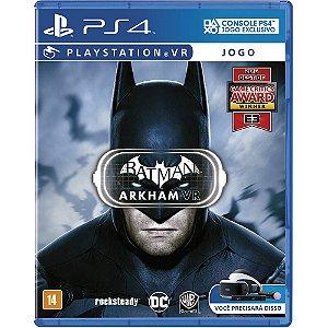 Batman Arkham VR - PS4 - Usado
