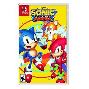 Sonic Mania - SWITCH - Usado [EUA]