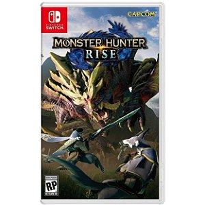 Monster Hunter Rise - SWITCH - Novo [EUA]