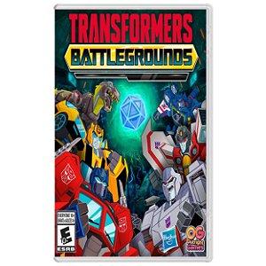Transformers: Battlegrounds - SWITCH - Novo [EUA]