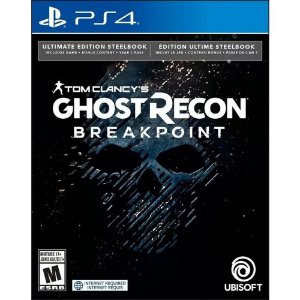 Tom Clancy's Ghost Recon Breakpoint Ultimate Edition Steelbook - PS4 - Novo