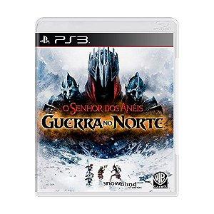 O Senhor dos Anéis Guerra no Norte - PS3 - Usado
