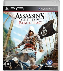 Assassin's Creed IV Black Flag - PS3 - Usado