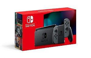 Console Nintendo Switch Com Joy-con Cinza (Nacional) - Novo