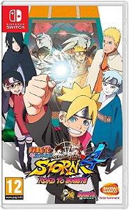 Naruto Shippuden Ultimate Ninja Storm 4 Road To Boruto - SWITCH - Novo [EUROPA]