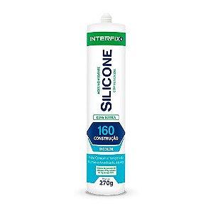 Silicone Acético 160 Construção Incolor - 270 g