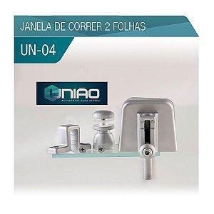KIT 04 - JANELA DE CORRER 2 FOLHAS