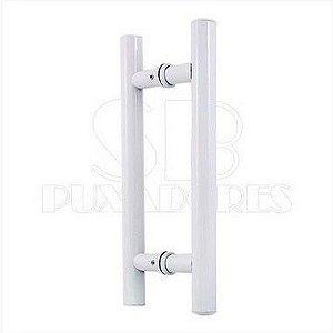 Puxador H Alumínio 50x30 cm Branco