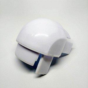 Cantoneira superior para box de vidro 08 mm temperado