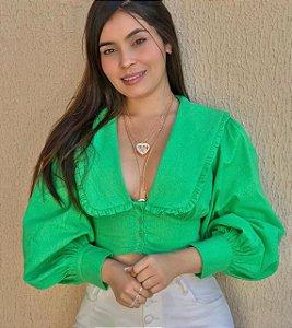 cropped marinheiro verde