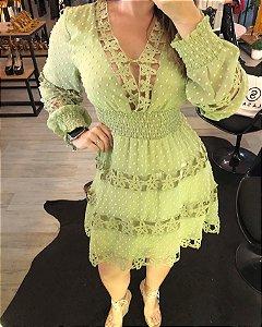 Vestido verde gode