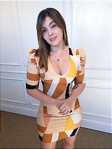 Vestido manga princesa