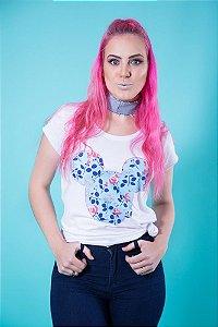 Camiseta Feminina Floral MM