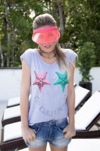 Camiseta Feminina Mermaid Estrela
