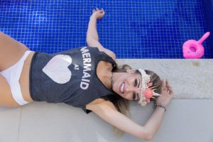 Camiseta Feminina Regata Mermaid Heart