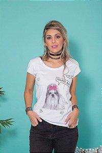 Camiseta Feminina Feeling Ruff