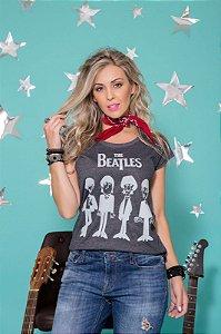 Camiseta Feminina Beatles