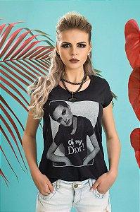 Camiseta Feminina Oh My Dior JATEADA